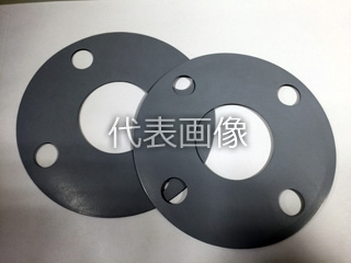 Matex/ジャパンマテックス 【CleaHybrid】高圧用ゴムガスケット(3MPa) 9320-1.5t-FF-10K-550A(1枚)