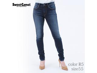 Sweet Camel/スイートキャメル ハイパワーストレッチdenimsta/スキニー【R5=濃色USED/size 55】■(SC5381)