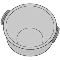 SHARP/シャープ ヘルシオ炊飯器用 内ナベ [2343800312]