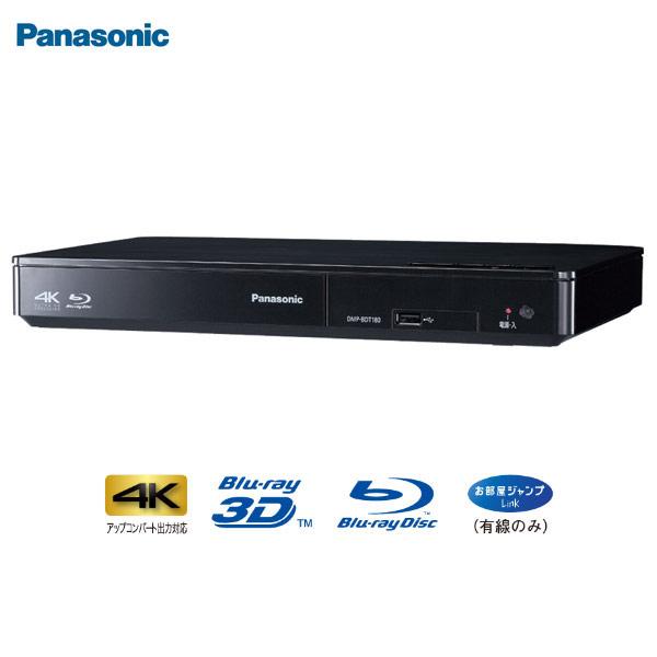 Panasonic/パナソニック 【納期未定】DMP-BDT180-K(ブラック) ブルーレイディスクプレーヤー