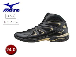 mizuno/ミズノ K1GF1571-09 ウエーブダイバース LG3 フィットネスシューズ 【24.0】 (ブラック)