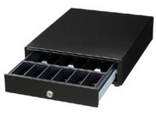 別倉庫からの配送 キャッシュドロアー 3札6硬貨 紙幣部:フラット収納 ブラック メーカー直売 EPSON CD-B3336B サーマルレシートプリンター エプソン TM-m30用