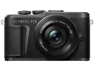 OLYMPUS/オリンパス PEN E-PL10 14-42mm EZ レンズキット(ブラック) ミラーレス一眼カメラ