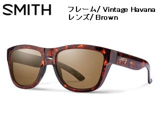 Smith Optics/スミス CLARK Vintage Havana 【レンズ/Brown】 【当社取扱いのスミス商品はすべて日本正規代理店取扱品です】