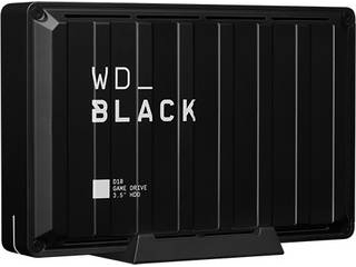 WESTERN DIGITAL ウエスタンデジタル USB3.2 Gen 1 (USB 3.0)対応外付けハードディスク 8TB WD_Black D10 ゲームドライブ WDBA3P0080HBK-NESN