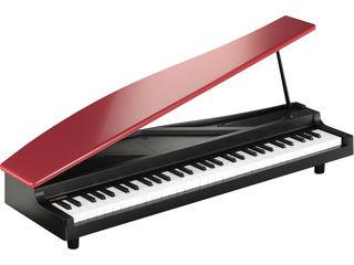 KORG/コルグ マイクロピアノ micro PIANO RD 音楽好きのご婦人や女の子への贈り物に喜ばれるミニピアノ♪