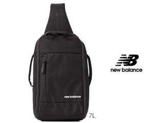 NewBalance/ニューバランス NORTH END 【ブラック】 MID TECH ワンショルダーバッグ (JABL9770)