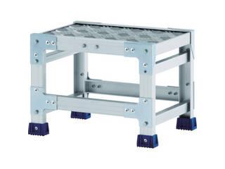 ALINCO/アルインコ 作業台(天板縞板タイプ)2段 CSBC265S