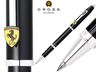 CROSS/クロス セレクチップローラーボール■センチュリー フォー スクーデリア・フェラーリ【グロッシーブラック】