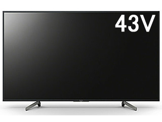 SONY/ソニー KJ-43X8000G BRAVIA/ブラビア 43V型4K液晶テレビ