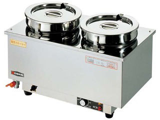 エイシン エイシン 18-8 電気ウォーマー ヨコ型 ES-4W