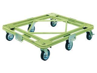SAKAE/サカエ 【代引不可】自在移動回転台車 重量型 標準タイプ RH-3G