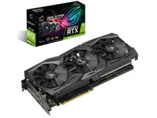 ASUS/エイスース NVIDIA GeForce RTX 2070 8GB ROG-STRIX-RTX2070-O8G-GAMING 納期にお時間がかかる場合があります