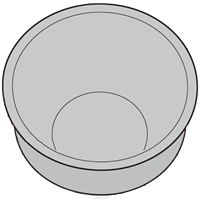 SHARP/シャープ ヘルシオ炊飯器用 内釜(KS-MX10B) [2343800321]