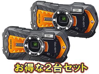 RICOH/リコー RICOH WG-70(オレンジ)×2台セット【wg70set】
