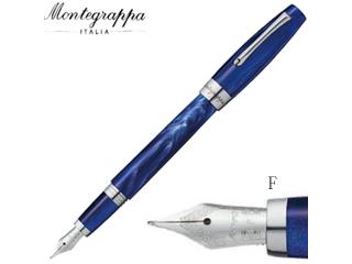Montegrappa/モンテグラッパ 万年筆■フェリチータ【ジェリーボンオーシャン】■スチールペン先 【F/細字】(ISFAR2ID )