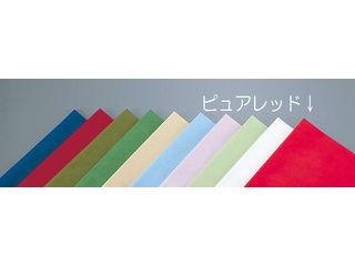 【代引不可】テーブルクロス オリビア 100角/ピュアレッド(50枚入)