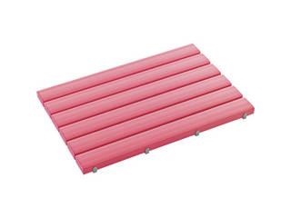 TERAMOTO/テラモト 抗菌安全スノコ 600×1160mm ピンク 組立品 MR-093-342-5