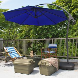 Octagon オクタゴン 自立式サンシェード ハンギング ガーデンパラソル