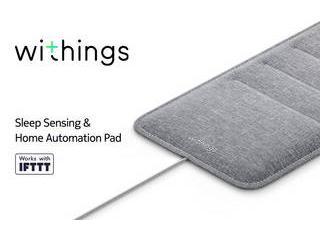 ・IoT睡眠パッド Withings ウィジングズ Withings Sleep ~睡眠サイクル分析/心拍数追跡/いびき検出~ WSM02-All-JP ・睡眠から始まる健康管理 ・快眠デバイス