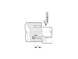 KYOCERA/京セラ 溝入れ用ホルダ KFMSL2525M3550-4
