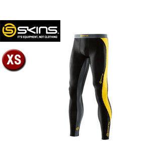 SKINS/スキンズ DK9905001-BKCR DNAMIC メンズ ロングタイツ 【XS】 (ブラック×シトロン)