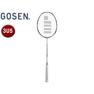 GOSEN/ゴーセン BRCE2TNSI バドミントン ラケット カスタムエッジ TYPE‐N シルバー (フレームのみ) 【3U5】 (シルバー)