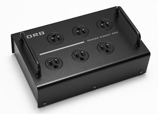ORB/オーブ Power Direct6 Pro Rhodium Pro用電源タップ (ロジウムメッキ)