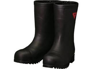 SHIBATA/シバタ工業 防寒安全長靴セーフティベアー#1011白熊(ブラック)フード無し 23.0cm AC121-23.0