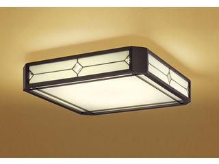 ODELIC/オーデリック OL291109BC 和LEDシーリングライト ステンドグラス【~8畳】【Bluetooth 調光・調色】※リモコン別売