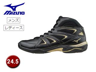 mizuno/ミズノ K1GF1571-09 ウエーブダイバース LG3 フィットネスシューズ 【24.5】 (ブラック)