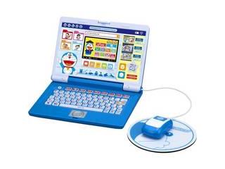 NEW ドラえもんと一緒に遊びながら学べるパソコン玩具です バンダイ 売買 BANDAI ドラえもんステップアップパソコン 納期目安:1週間~10日前後