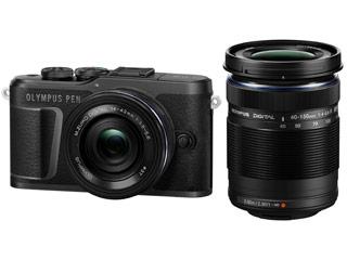 OLYMPUS/オリンパス PEN E-PL10 EZ ダブルズームキット(ブラック) ミラーレス一眼カメラ