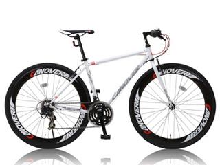 CANOVER/カノーバー CAC-025 NYMPH(ニンフ) クロスバイク 【700c】 (ホワイト) メーカー直送品のため【単品購入のみ】【クレジット決済のみ】 【北海道・沖縄・離島不可】【日時指定不可】商品になります。