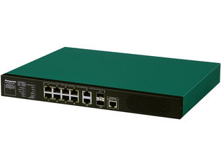 パナソニックESネットワークス レイヤ2 PoE給電スイッチングハブ 8ポート XG-M8TPoE+ PN83089