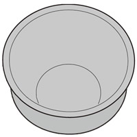 SHARP/シャープ ヘルシオ炊飯器用 内釜(KS-PX10B-R) [2343800319]
