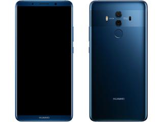 HUAWEI ファーウェイ 6型SIMフリースマートフォン HUAWEI Mate 10 Pro ミッドナイトブルー