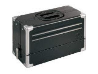 TONE/トネ ツールケース(メタル) V形3段式 マットブラック BX331BK