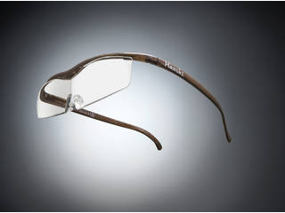 Hazuki Company/ハズキ 【Hazuki/ハズキルーペ】メガネ型拡大鏡 コンパクト クリアレンズ 1.6倍 ブラウン 【ムラウチドットコムはハズキルーペ正規販売店です】