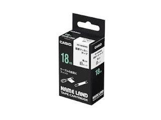配線マーカーテープ ◆セール特価品◆ 日本メーカー新品 5.5m CASIO カシオ ネームランド配線マーカーテープ 18mm XR-18HMWE
