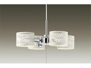 DAIKO/大光電機 DXL-81265 LEDシャンデリア 4灯 (白塗装) 【~4.5畳】※ランプ付