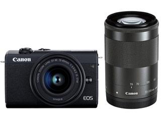 CANON/キヤノン EOS M200・ダブルズームキット(ブラック) ミラーレスカメラ 3699C016