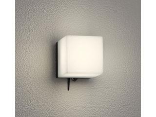 ODELIC OG254826BC 人感センサ付ポーチライト 黒色【電球色】【Bluetooth対応】