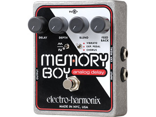 【nightsale】 electro harmonix/エレクトロハーモニクス Memory Boy アナログディレイ エフェクター 【国内正規品】