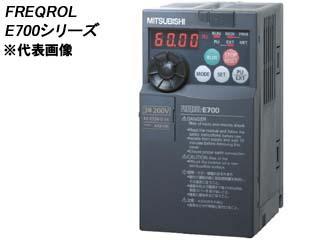 MITSUBISHI/三菱電機 【代引不可】FR-E720-0.1K 簡単・パワフル小形インバータ FREQROL-E700シリーズ (三相200V)