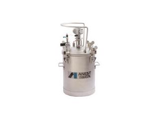 【組立・輸送等の都合で納期に1週間以上かかります】 アネスト岩田コーティングソリューションズ 【代引不可】加圧タンク(ステンレス製、自動撹拌式) 20リットル COT-20M ANEST IWATA