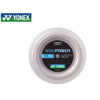 YONEX/ヨネックス BG80P2-11 バドミントンストリング BG80 POWER チーム200/BG80 パワー チーム200 (ホワイト)