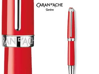 CARAN dACHE/カランダッシュ 【Leman/レマン】スカーレットレッド ボールペン 4789-770