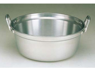 hokua/北陸アルミニウム アルミ長生料理鍋 48cm