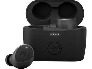 JAYS/ジェイズ 完全ワイヤレス JAYS m-Seven トゥルーワイヤレスイヤホン(Bluetooth 5.0/ブラック) JS-MSTW-BK
